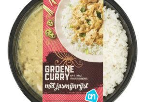 AH Groene curry met jasmijnrijst