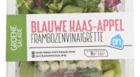 AH Groene salade blauwe kaas-appel