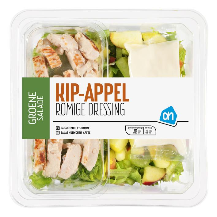 AH Groene salade kip appel