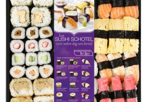 ah luxe sushi schotel