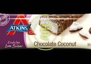 Atkins Endulge Kokosnoot Chocolade Reep 35 GR