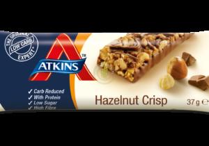 Atkins Hazelnoot Crisp Reep 37gr