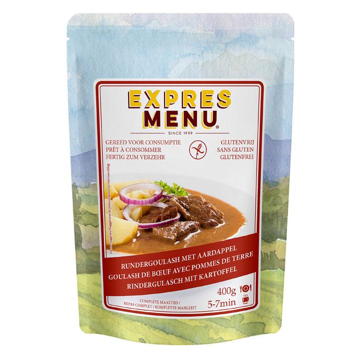 glutrnvrij Expres Menu Complete maaltijd beef goulash-aardappel