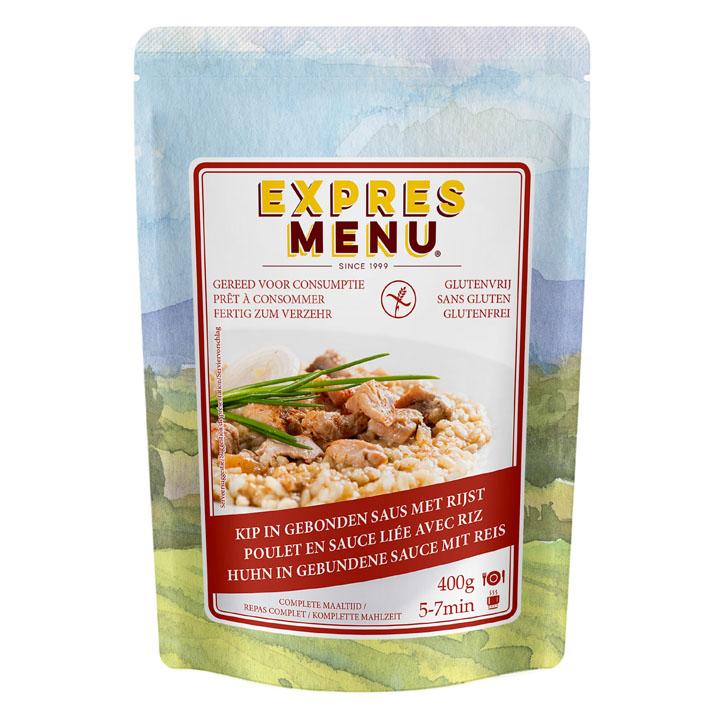 Expres Menu Complete maaltijd kip-rijst glutenvrij