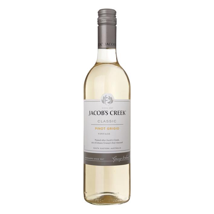 Jacob's Creek Pinot Grigio wijn